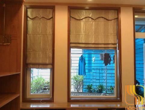 rèm vải roman sọc đứng tại đà nẵng