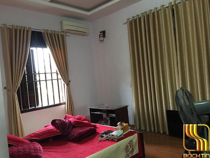 Màn cửa chống nắng màu vàng đồng tại Đà Nẵng