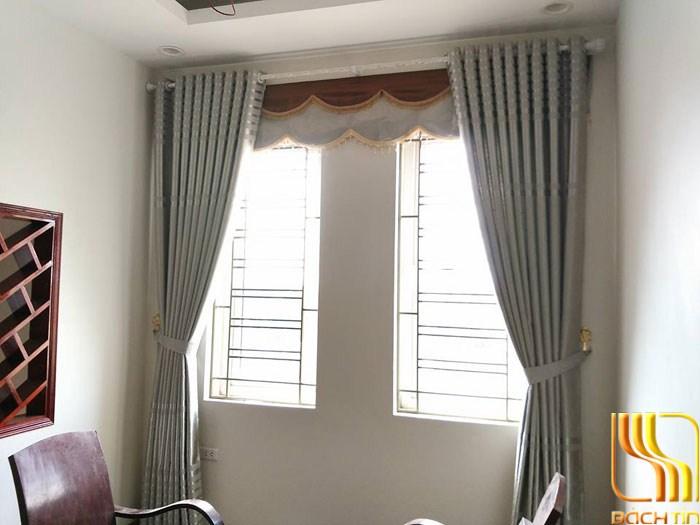 màn cửa gấm màu ghi giá tốt ở Đà Nẵng