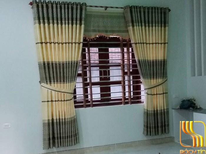 Màn cửa phòng ngủ vải gấm đẹp tại Đà Nẵng