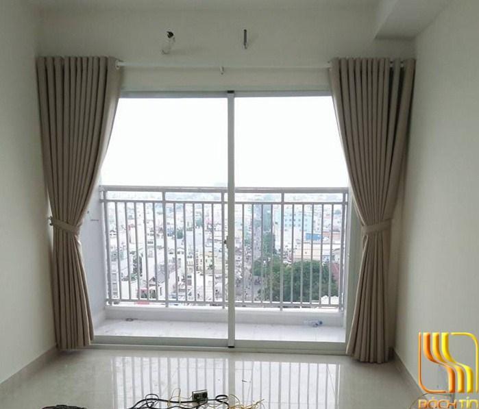 Màn rèm trơn cho chung cư tại Đà Nắng