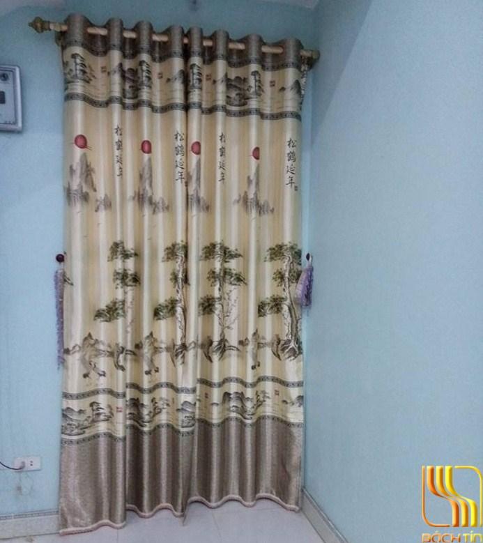rèm cửa hình núi non đẹp ở Đà Nẵng