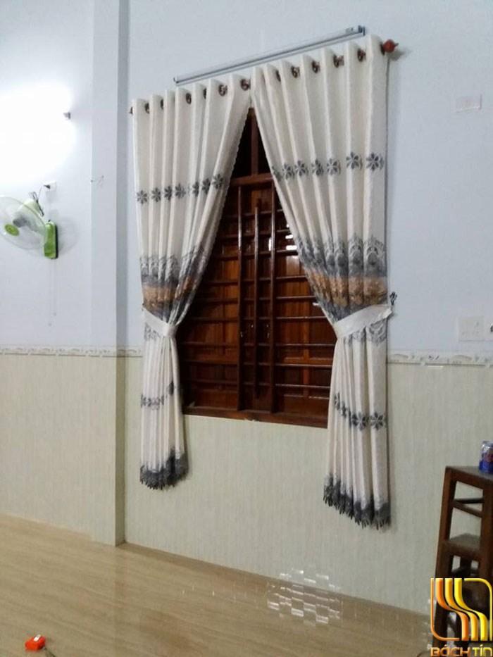 Rèm cửa trang trí hoa đẹp tại Đà Nẵng