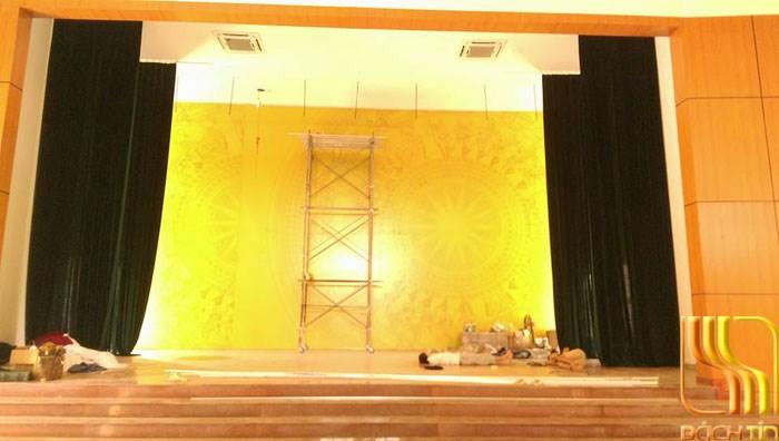 rèm khánh tiết hội trường cao cấp ở Đà Nẵng