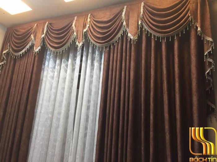 Rèm trang trí hai lớp đẹp cho showroom ở Đà Nẵng
