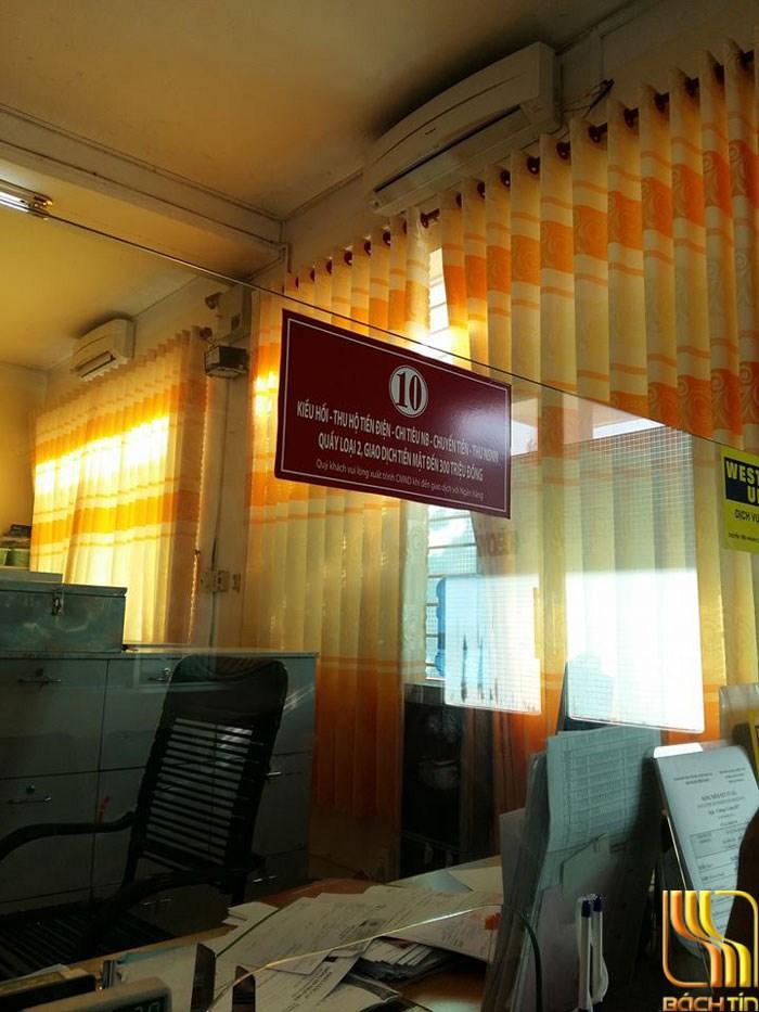 rèm vải màu vàng chống phai màu tại Đà Nẵng