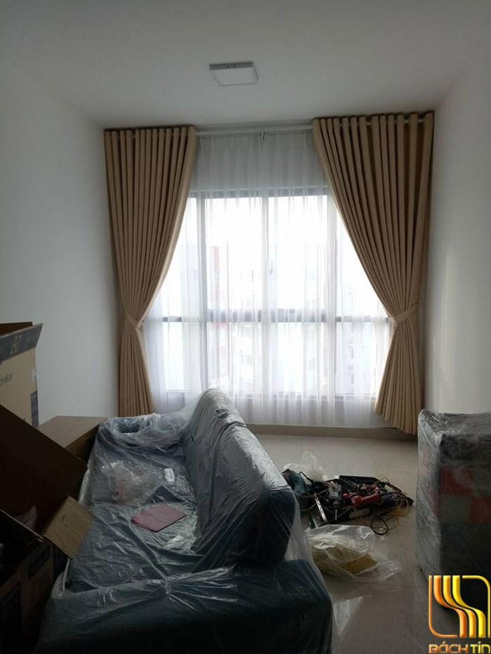 Rèm vải trơn cao cấp cho phong khách ở Đà Nắng
