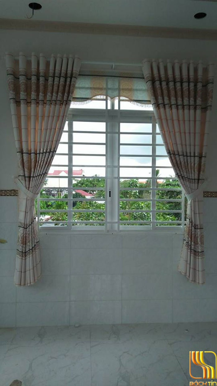 èm cửa bố dày thô may ánh kim đẹp ở Đà Nẵng