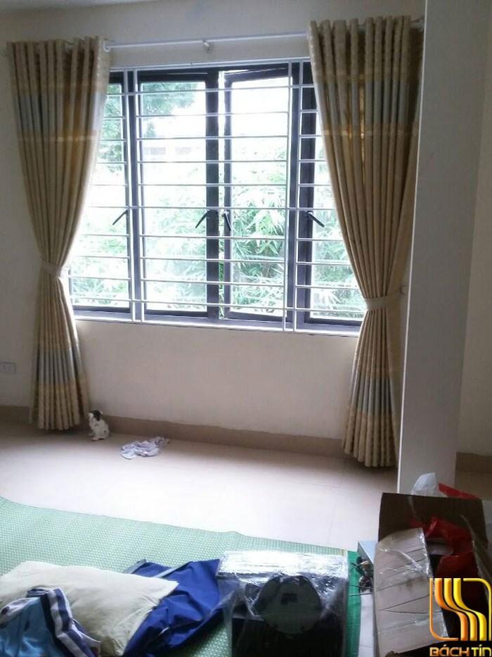 màn cửa hoa chìm giá rẻ phòng ngủ tại Đà Nẵng