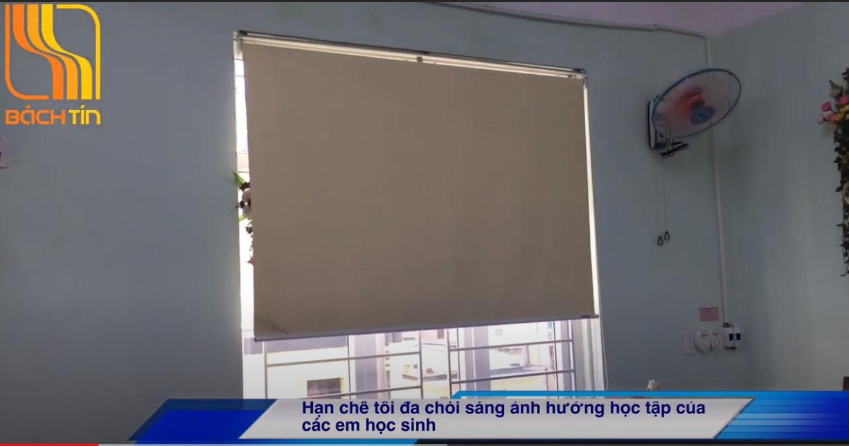 Lắp Rèm cuốn cho trường tiểu học Tây Sơn - Đà Nẵng
