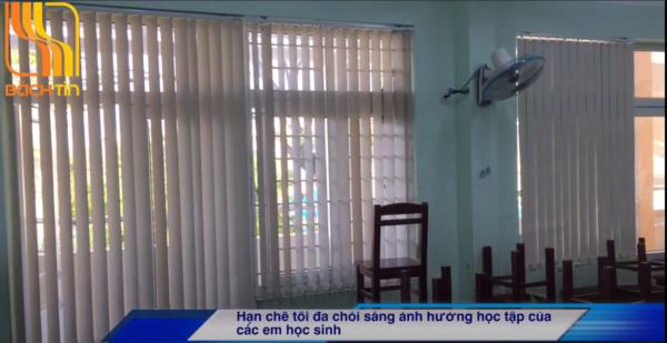Lắp Rèm lá dọc cho trường tiểu học Tây Sơn - Đà Nẵng
