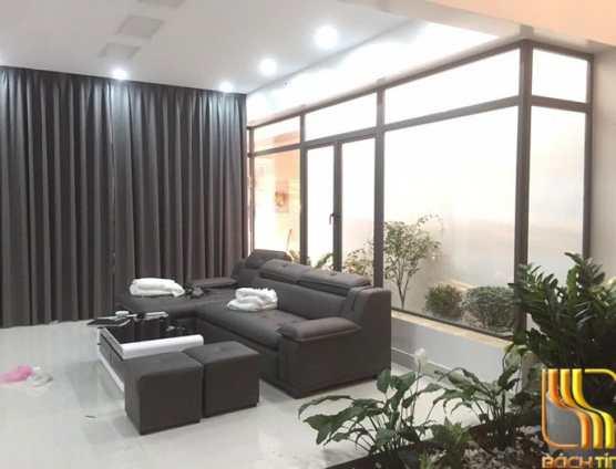 Màn rèm cửa chất lượng vải gấm cao cấp cho biệt thự tại Đà Nẵng
