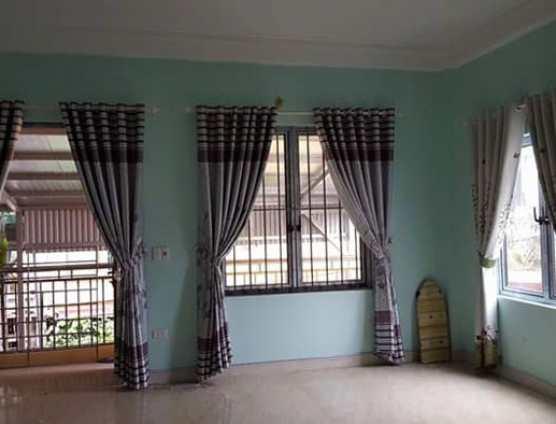 mẫu rèm cửa vải hoa văn đẹp giá rẻ ở Đà Nẵng