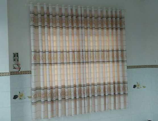 rèm cửa bố dày thô may ánh kim đẹp ở Đà Nẵng