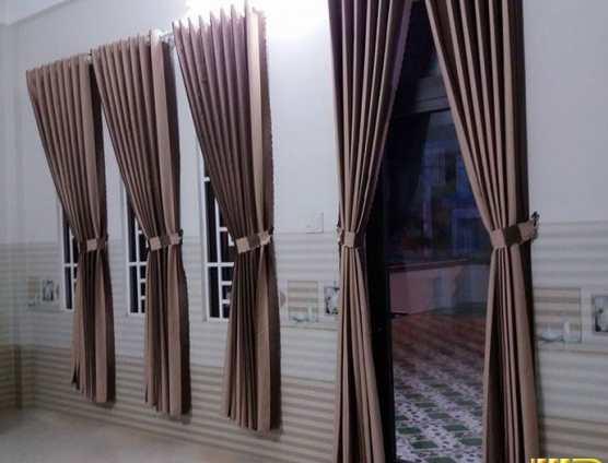 Rèm cửa chống nắng sọc kem đà tại Đà Nẵng