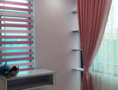 rèm cửa màu hồng dễ thương cho phòng em bé ở Đà Nẵng