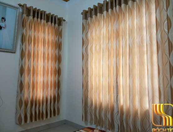 rèm cửa sổ thô phối vải khác màu ở Đà Nẵng