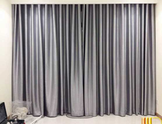 rèm cửa trung cư lắp ray âm trần thạch cao ở Đà Nẵng