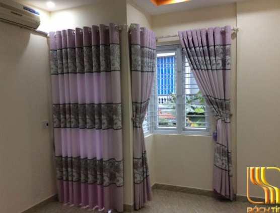 Rèm phòng ngủ cản sáng 90% màu hồng ở Đà Nẵng