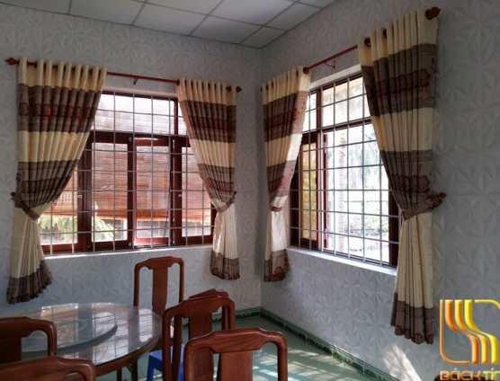 Rèm vải giá rẻ sỏ cây ở Đà Nẵng