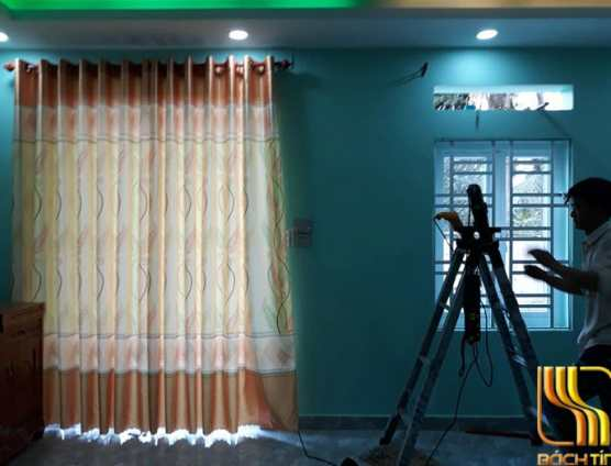 rèm vải giá rẻ trơn mịn ở Đà Nẵng