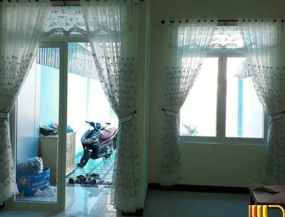 Rèm vải mỏng thêu trang trí đẹp ở Đà Nẵng