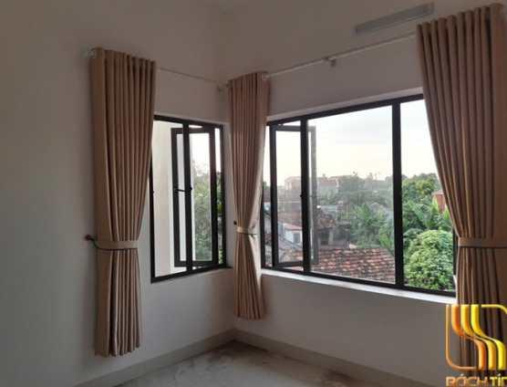 Rèm vải 1 màu cản sáng ở Đà Nẵng