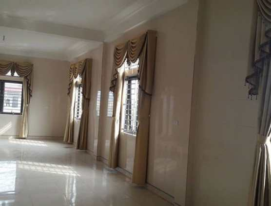 Rèm vải tân cổ điển vàng kem tại Đà Nẵng